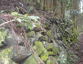 水路石積垣